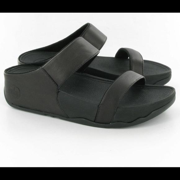 682b99782 Fitflop Shoes - Women s Black Fitflop Lulu Slides Size 6